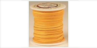 DEERSKIN LACE 3/16in x 36ft - Gold (5068-06) [WBL]