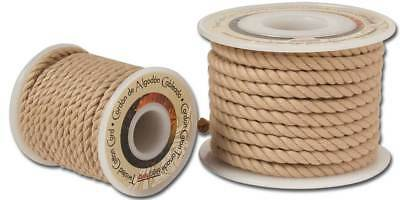 TWISTED COTTON CORD 10yds 6mm (5150-02) [WBL]