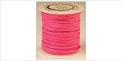 DEERSKIN LACE 3/16in x 36ft - Fuschia (5068-10) [WBL]