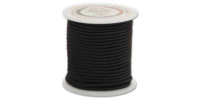 ELASTIC CORD 20yds 2mm Black (5160-02) [WBL]