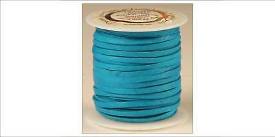 DEERSKIN LACE 1/8in x 50ft - Turquoise (5067-09) [WBL]