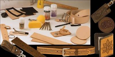 Deluxe Leathercraft Set (55402-00) [Wbl]