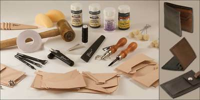 Deluxe Leathercrafting Set (55403-00) [Wbl]