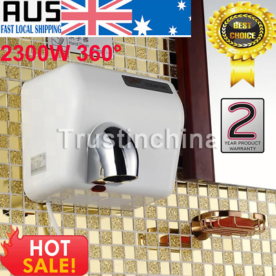 Powerful 360° Rotational Wall Mounted Automatic Hand Dryer 2300W