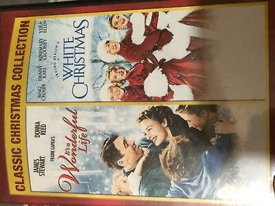 It's A Wonderful Life/White Christmas (DVD, 2012, 2-Disc)GREAT CONDITION