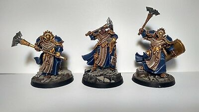 Warhammer Age of Sigmar Stormcast Sequitors Painted miniatures
