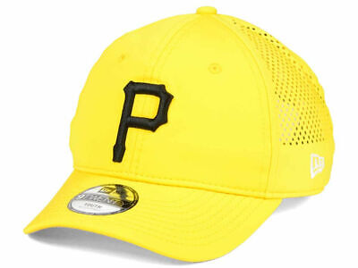 huge discount cc0d2 0ab81 Pittsburgh Pirates New Era MLB Jr Perf Pivot 2 9TWENTY Adjustable Cap Youth  Hat