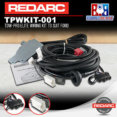 Redarc TPWKIT-001 Tow-Pro Elite Wiring Kit Suit Ford Ranger PXI, PXII & Everest
