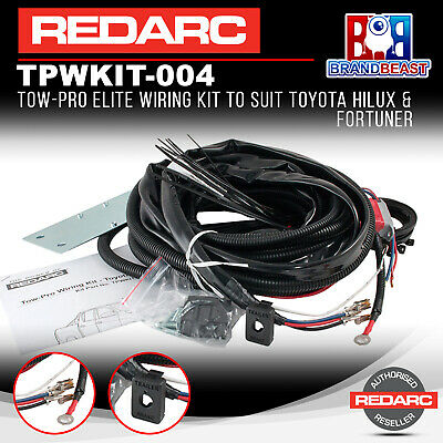 Redarc TPWKIT-004 Tow-Pro Elite Wiring Kit to Suit Toyota Hilux & Fortuner