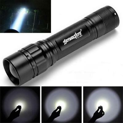 5000 LM Skywolfeye 3 Modes Flashlight CREE XML XPE LED Torch Lamp Zoomable Light