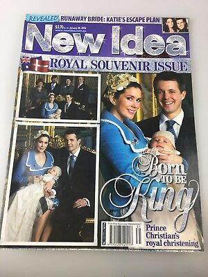 New Idea - 2006 Royal Souvenir Issue - Princess Mary & Prince Frederick - Baby