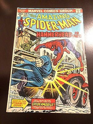 The Amazing Spider-Man #130 (Mar 1974, Marvel) VF Stan Lee Bronze Age