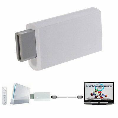 Wii To HDMI 1080P Upscaling Converter Adapter with 3.5mm Audio Output YW