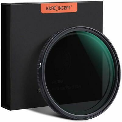 K&F Concept 52MM ND Slim Neutral Density Fader Filter 18-Layer Optical Glass