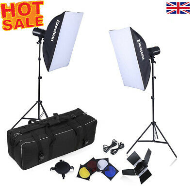 Photography Studio Photo Strobe Flash Lighting Softbo Trigger Light Stand Kit