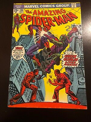 The Amazing Spider-Man #136 (Sep 1974, Marvel) VF/NM Stan Lee Bronze Age