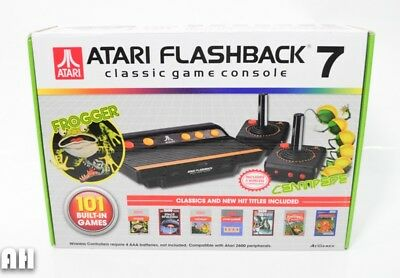 Atari Flashback 7 Classic Game Console Frogger 101 Games Built-In AR3210