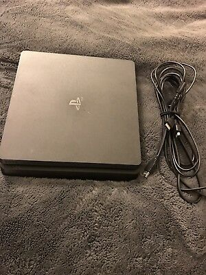 Sony PlayStation 4 Slim 1TB Jet Black Console