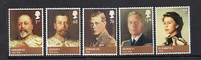 Gb Mnh 2012 Sg3265-3269 Kings & Queens - House Of Windsor