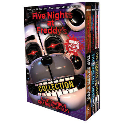 Five Nights at Freddy's Collection Twisted Ones 3 Books Pack Box Set Silver Eyes