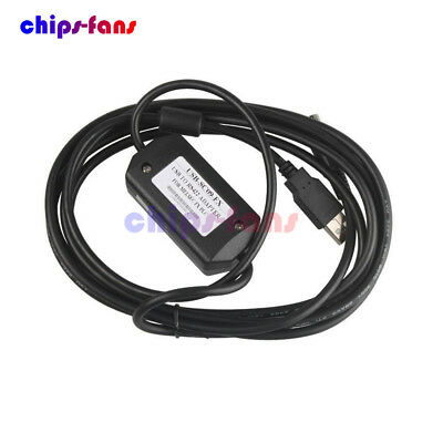 USB-SC09-FX Cable PLC Programming USB to RS422 Adapter for Mitsubishi FX Win7