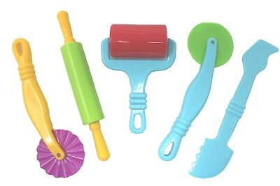 Dough Tools For Play Doh Pack Of 5 Modelling Craft Set New
