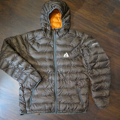 FIRST ASCENT MENS L DOWN HOODY SWEATER JACKET EB800 LARGE Eddie Bauer Whittaker