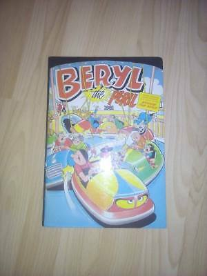 Beryl The Peril (Plus Minnie The Minx) Annual 1981 D.C.Thomson