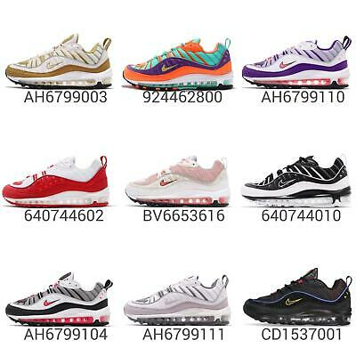 buy online ffdc1 d1b8d Nike Air Max 98 Men   Women Wmns Running Shoes Sneakers Trainers Pick 1