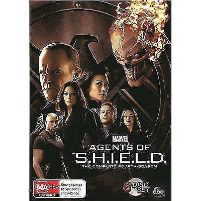 Marvel's Agents Of S.h.i.e.l.d Shield Season 4  Region 4  New & Sealed