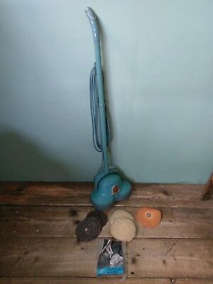 Vintage Hoover Electric Floor Scrubber & Polisher + Pads (Collection only) #A