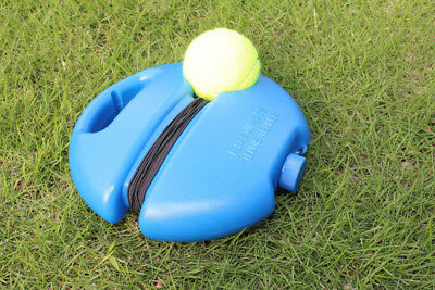 Singles Tennis Ball Trainer Self Training Practice Balls Back Base Tools+Tennis