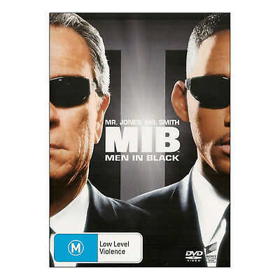 Men In Black DVD Brand New Aus Region 4 PAL - Tommy Lee Jones, Will Smith