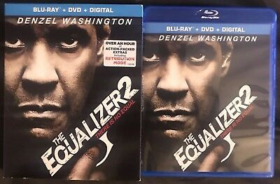 The Equalizer 2 Blu Ray Dvd 2 Disc Set With Slipcover Sleeve Free World Shipping