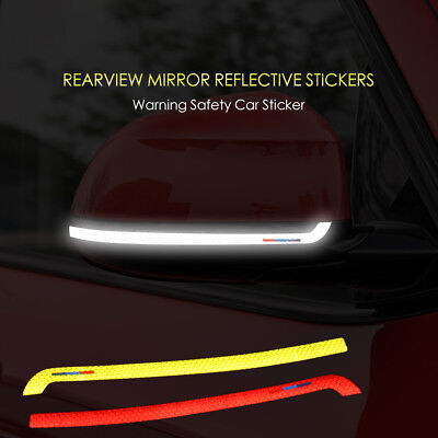 2X Reflective Tape side mirror sticker decal for BMW X3 f25 X4 f26 X5 X6 f15 f16