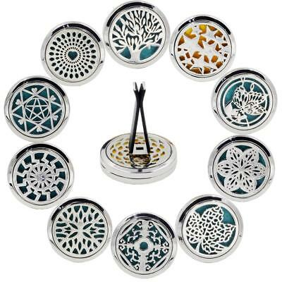 10 Style Car Air Vent Freshener Essential Best Christmas Oil Diffuser Clips DLUK