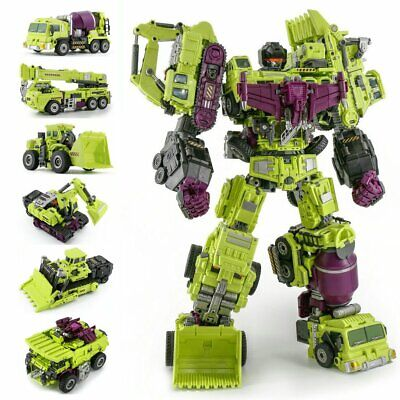 Jinbao Devastator Transformation Toy A+B+C Model Decepticons Action Figure