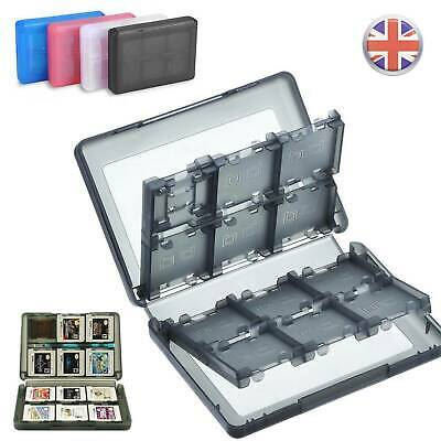 28 in 1 Game SD Card Case Holder Storage For Nintendo 3DS DS DSi XL LL