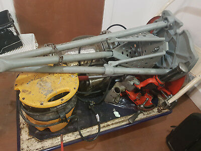 Ridgid 300 pipe threader complete, working and used.