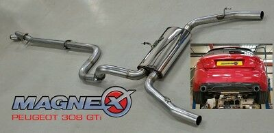 Magnex Cat Back Exhaust System - fits Peugeot 308 GTi 1.6 Turbo