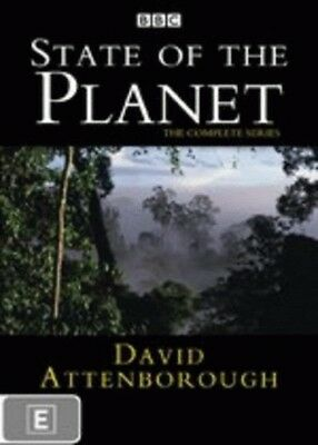 State of the Planet: The Complete Series (David Attenborough) = NEW DVD R4