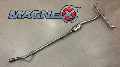 Magnex Non-Resonated Cat Back Exhaust System - fits Mercedes Benz A45 AMG