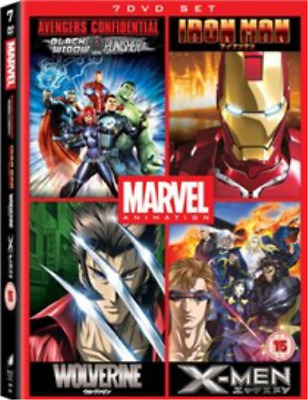 Marvel Anime Collection (UK IMPORT) DVD NEW