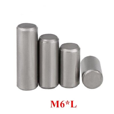 Chrome Steel Cylindrical Locating Pins Rod Solid Pin M6 6mm Dowel Pins Roller