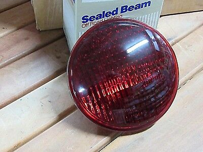 Brand New Wagner Emergency Vehicle Red Light Headlamps