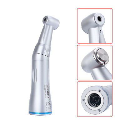 1 Set NSK Style Dental Inner Water Spray Push Low Speed Handpiece Contra Angle