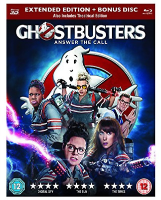 GHOSTBUSTERS (3D) (UK IMPORT) Blu-Ray NEW