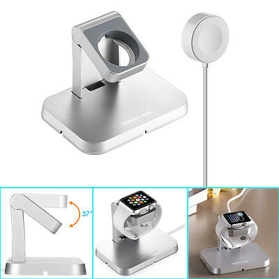 Magnetic Charger Charging Cable & Stand For Apple Watch iWatch 38mm 42mm