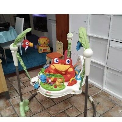 Fisher Price Rainforest Jumperoo Excellent Condition