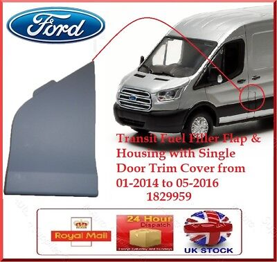 Ford Transit Mk8 Fuel Tank Housing Flap Door Cover 2014 > New Oe 1829959